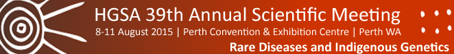 HGSA 39th Annual Scientific Meeting